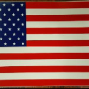 1776 - American Flag Sticker