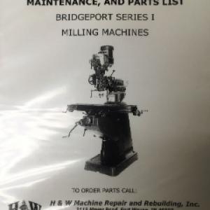 BRM-1 - Bridgeport Series I Operators Manual