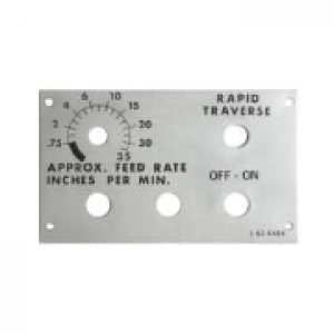 038-0251 - Control Box Cover Plate