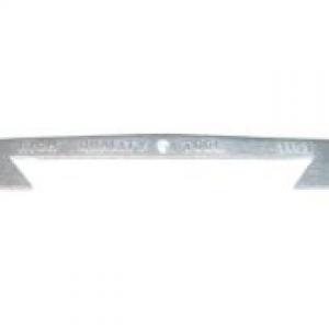 Saddle/Knee Wiper Plate - 1153