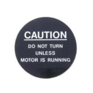 1475 - Caution Plate