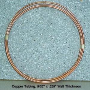 "5C25 - 5/32"" Copper Tubing, 12LF"