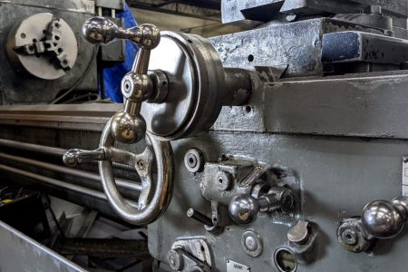 6F – A and B Power Feed handle Assembly