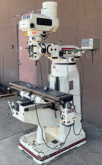 """2-Axis Mitutoyo DRO Table Power Feed 49"""" Table Price - $3,000"""