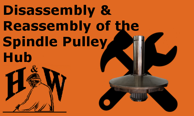 spindle pulley hub