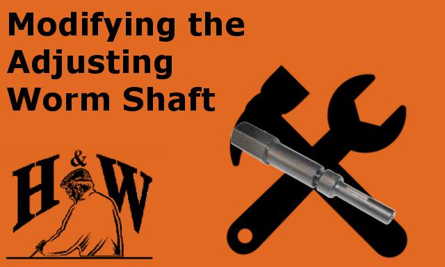 worm shaft